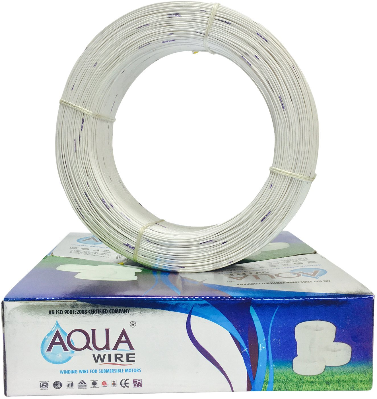 Submersible Copper Winding Wire, PVC Winding Wire for Submersible ...