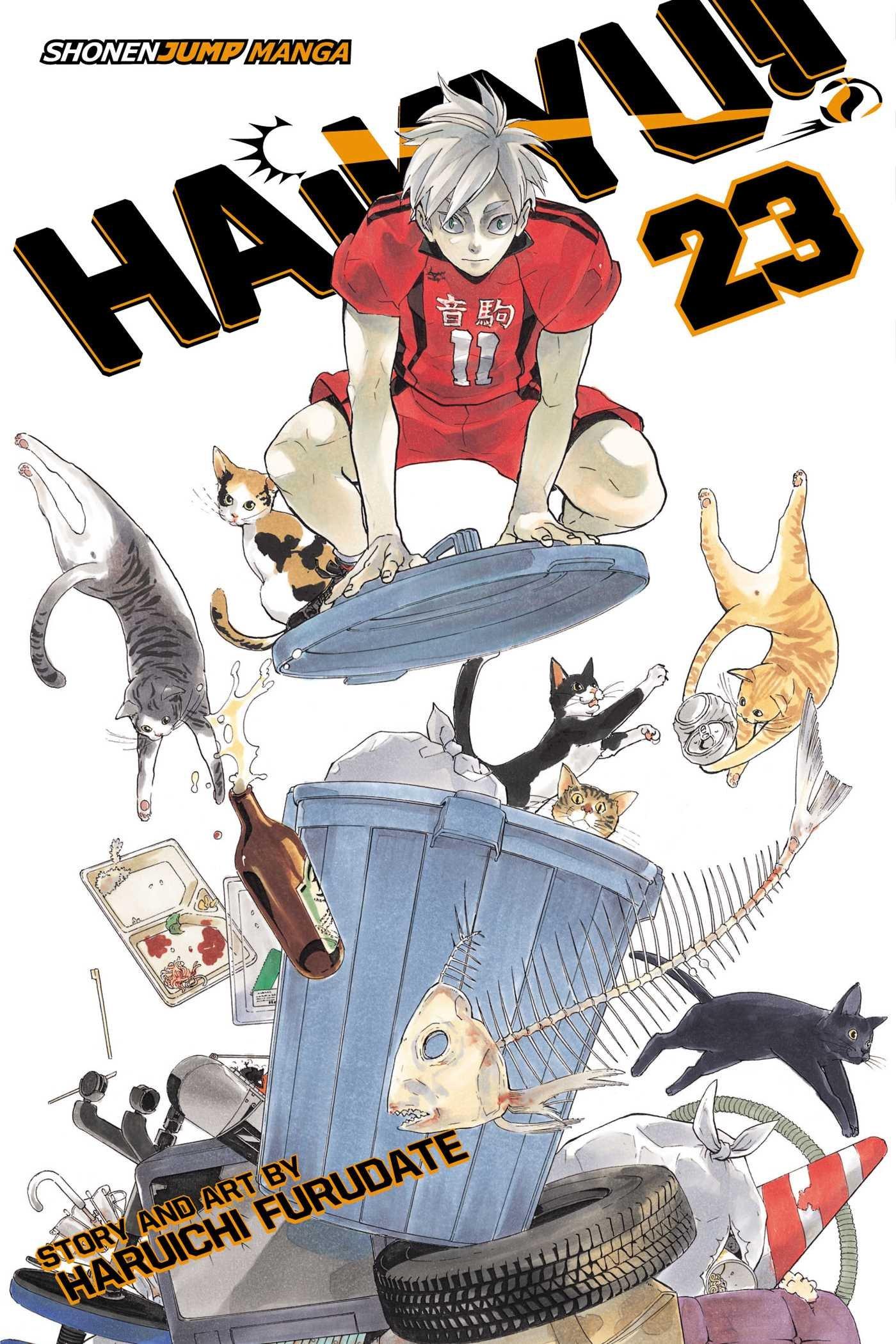 Haikyu!! - Tomo 23 - Haruichi Furudate - Manga ( Ingles)