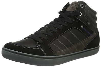 Geox Herren U Box G High Top, Schwarz (BLACKC9999), 39 EU