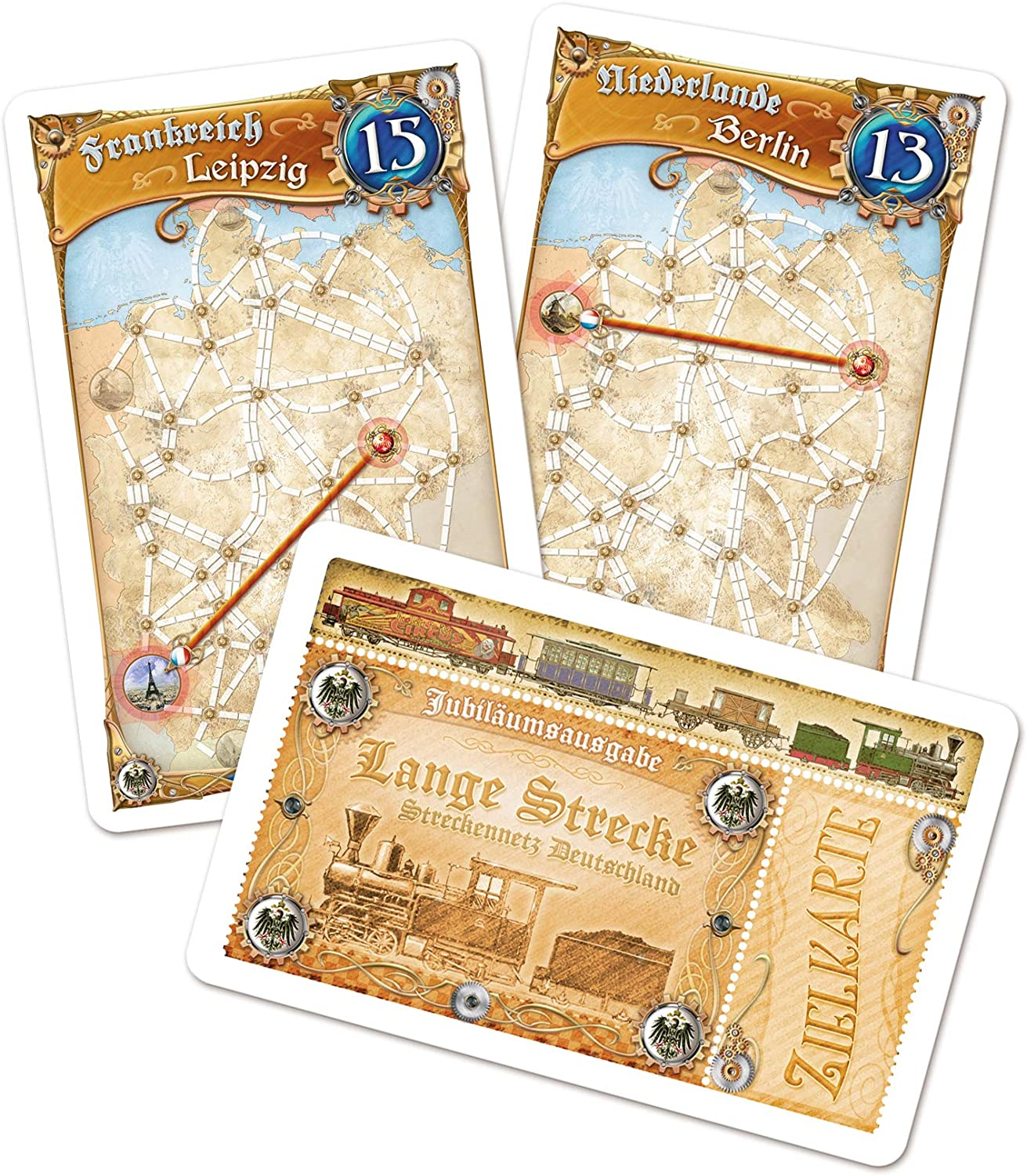 Amazon Com Asmodee 851761 Ticket To Ride Germany Game Toys Games