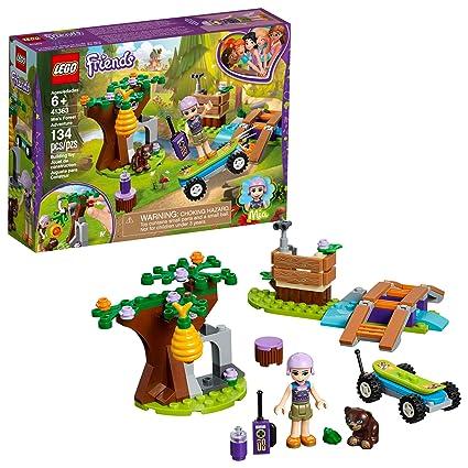 Amazoncom Lego Friends Mias Forest Adventure 41363 Building Kit
