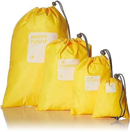 4 bolsas de viaje impermeables con cordón, ideales para la ...