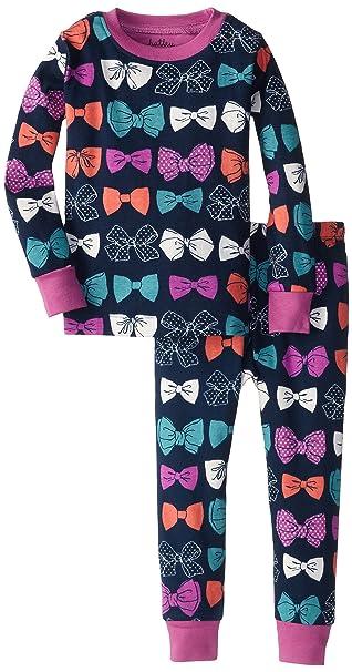 Hatley - Pijama para niña, color azul, talla 2 años