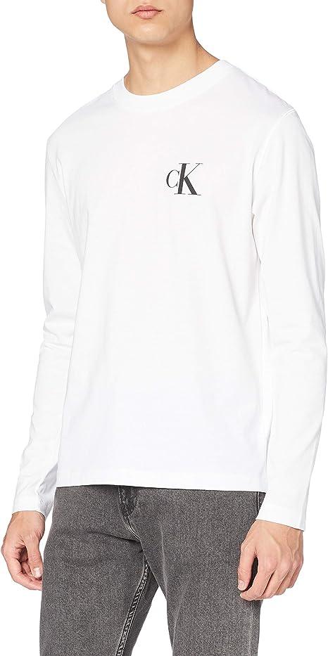 Calvin Klein CK Eco LS tee Camisa para Hombre: Amazon.es ...