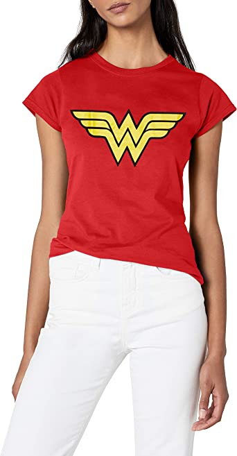New Wonder Woman DC Comics Superhero Slim Short Sleeve Raglan Baseball T-Shirts