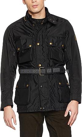 varonil Baño Guia  Belstaff XL500 Replica jacket black XXXL: Amazon.co.uk: Sports & Outdoors