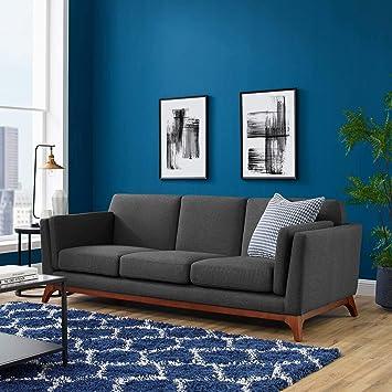Amazon.com: Modway EEI-3062-GRY Chance - Sofá tapizado de ...
