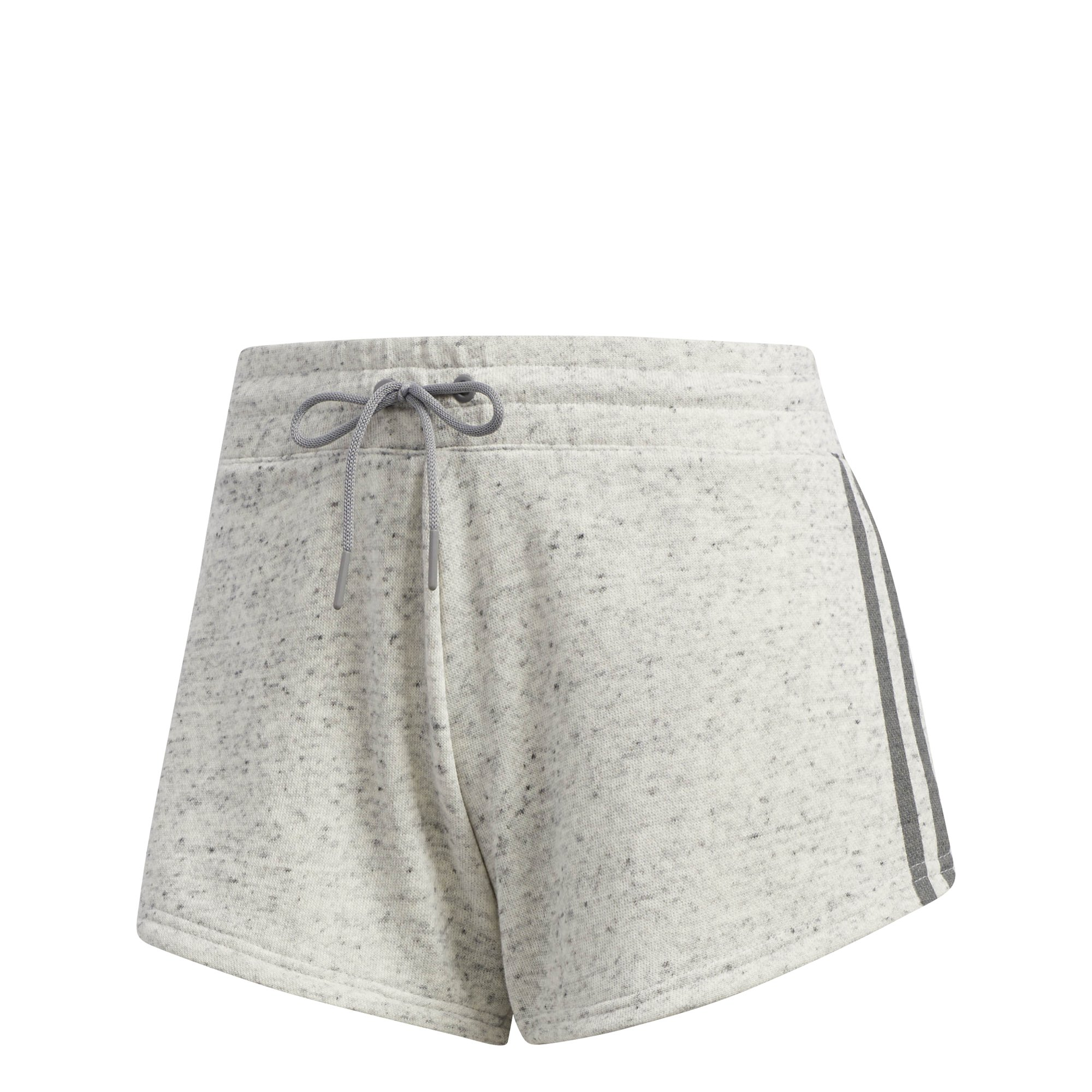 adidas Womens Athletics Sport 2 Street Shorts, White Mélange/Grey Three, Medium by adidas