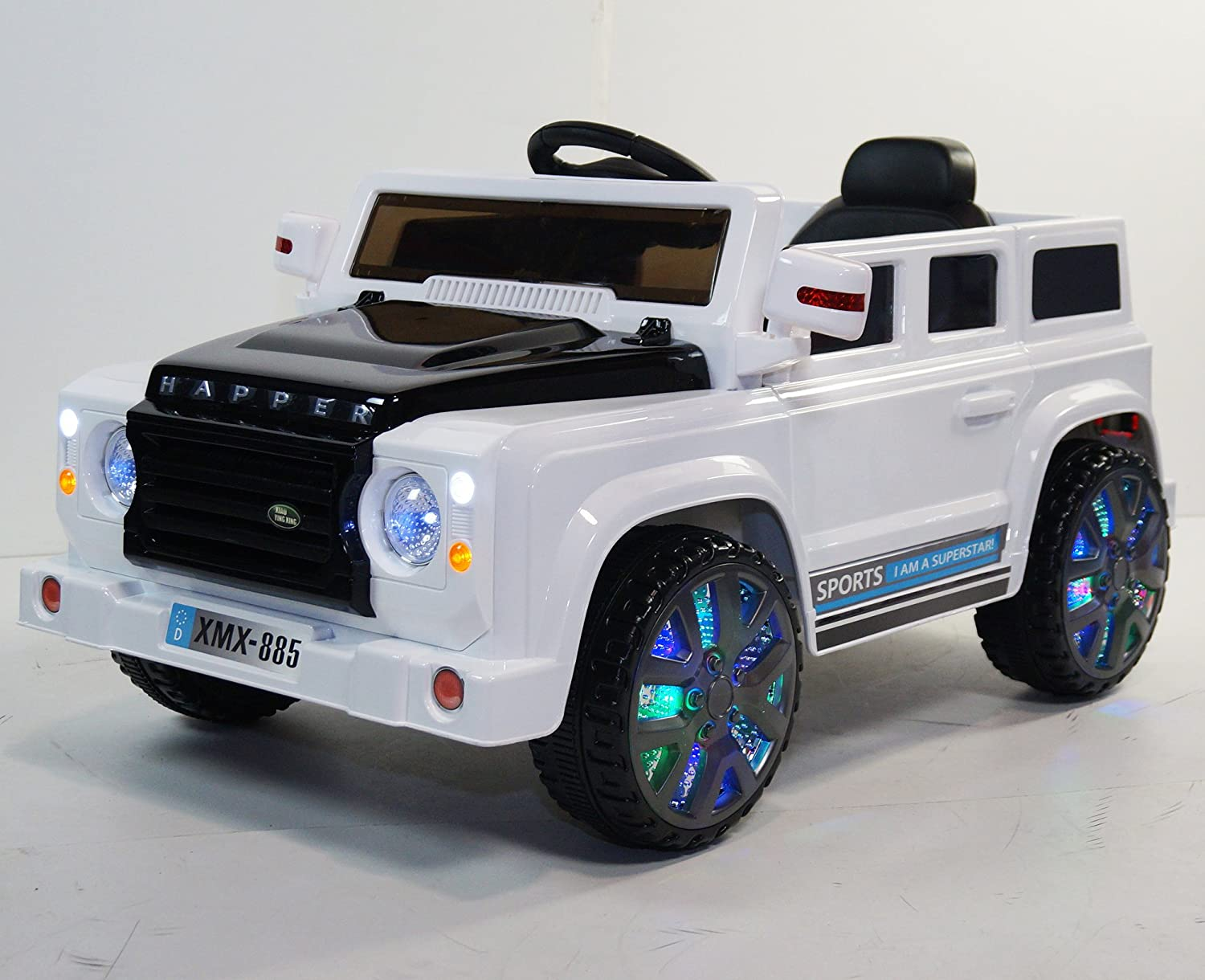 range rover style ride on toy car for kids with remote control toys games