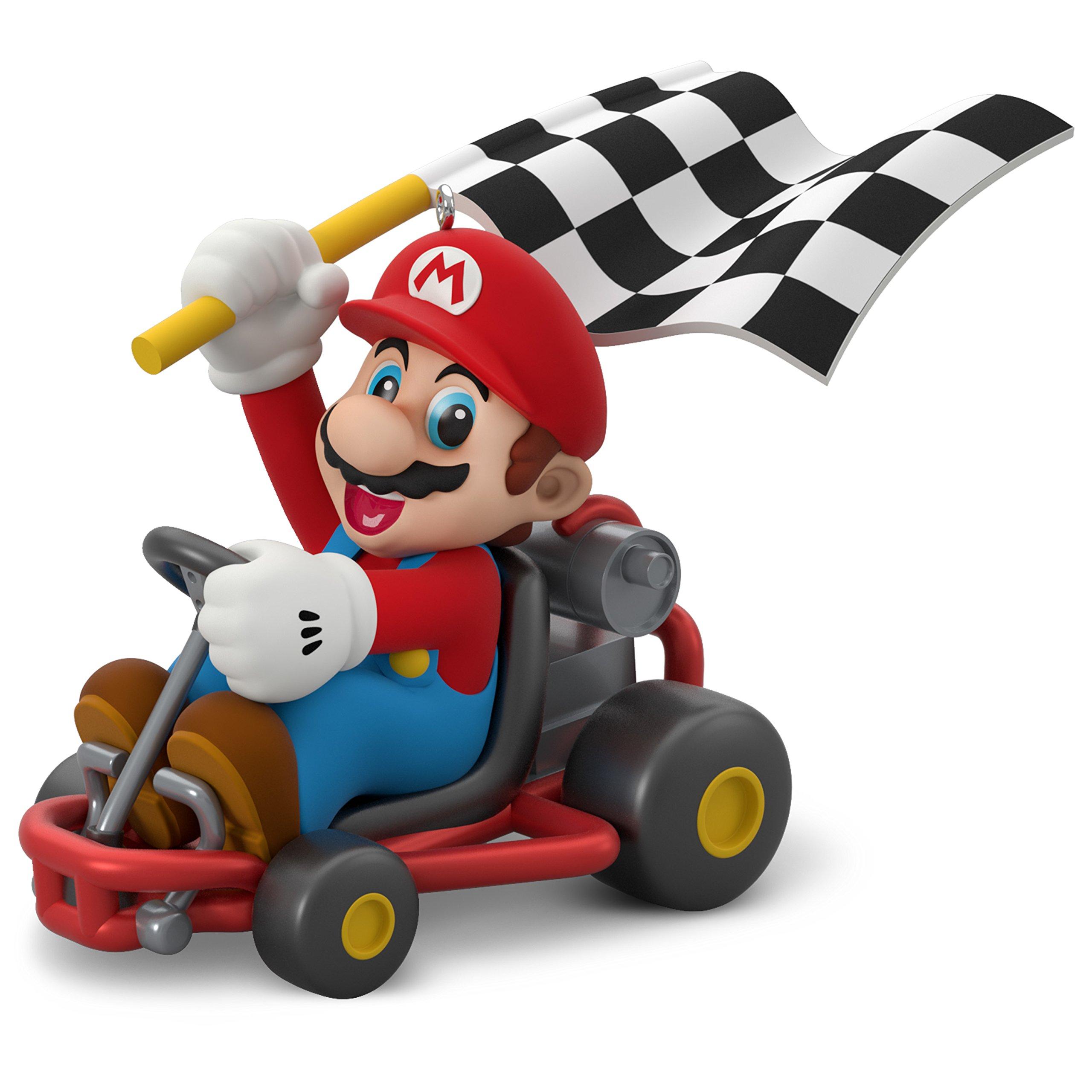 Hallmark Keepsake Christmas Ornament 2018 Year Dated, Nintendo Mario Kart