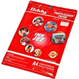 Oddy A3 Size High Quality Resolution Coated Glossy Paper For Professional Use 180 GSM - 50 Sheets