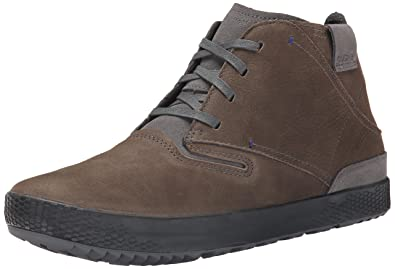Cushe PDX Leather Lace Up Sneaker, Dark Grey, 41 BR/8 M US