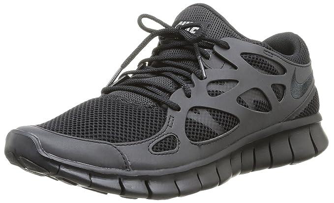 e197aba97ea834 Nike Herren Free Run 2 Laufschuhe Schwarz (BLACK) 41 EU  Amazon.de  Schuhe    Handtaschen