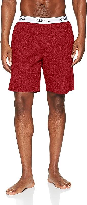Calvin Klein Sleep Short Pantalones de Pijama para Hombre