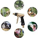 "SYOOY Garden Hose Nozzle 3/4"" High-Pressure Metal"