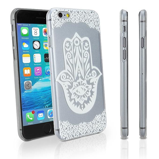iPhone 6 Plus Caso, BoxWave® [Henna Caso] Carcasa rígida con ...