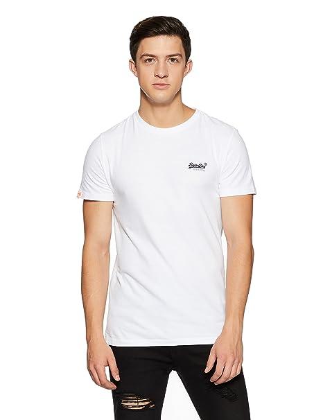 Superdry Orange Label Vintage EMB tee, Camisa para Hombre: Amazon.es: Ropa y accesorios