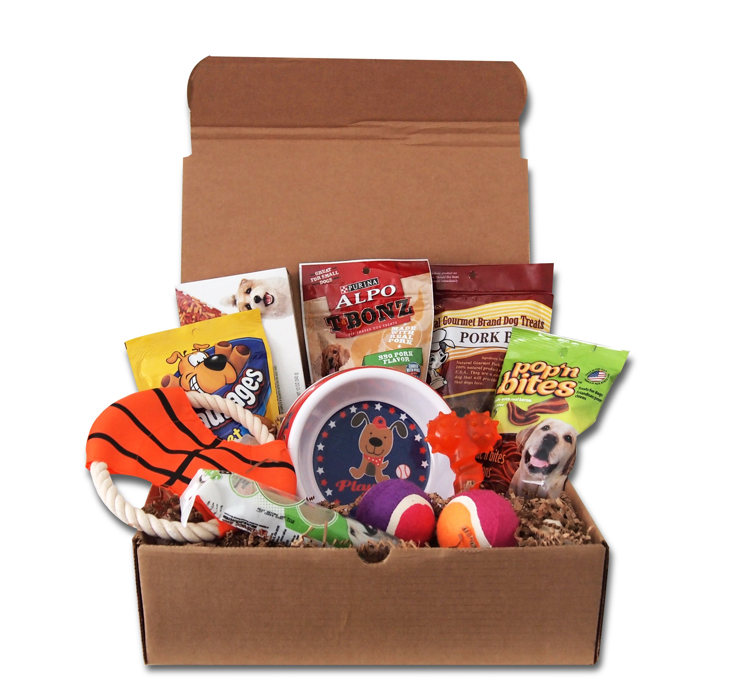 Best Dog Puppy Gift Treats Pet Toy Box Set by JOICE