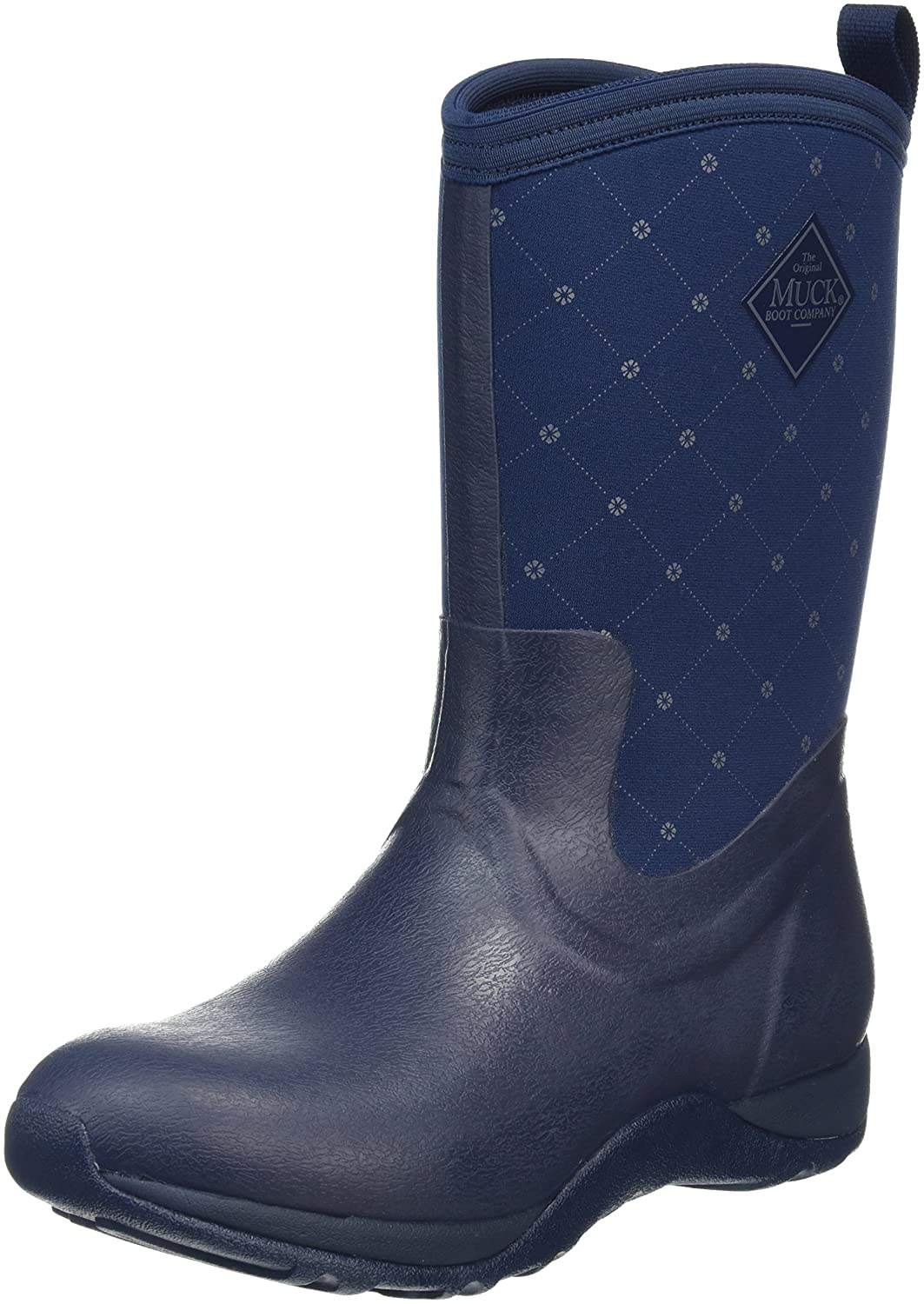 Muck Boot Women's Arctic Weekend Mid Snow B01J6MCAEQ 5 B(M) US|Navy Quilt