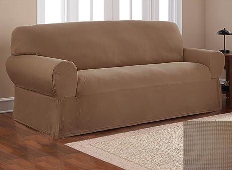 Amazon.com: Elegante funda elástica para sofá, sofá, sofá ...
