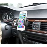 IBRA� Dedicated Air Vent Car Holder Mount Black Vehicle Louvers Phone Cradle Mount For Apple Iphone 6 / 6 Plus / 5 / 4 / 4s / 3G / 3 and IPOD series 2015 Model