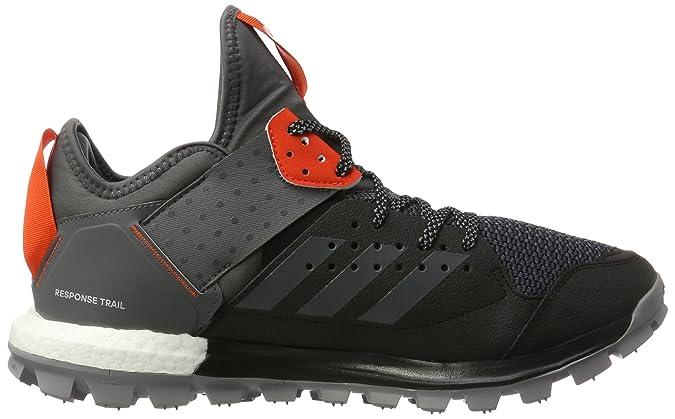 Response TR M, Scarpe da Trail Running Uomo, Nero (Core Black/Grey Five/Energy), 42 EU adidas