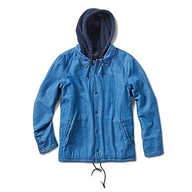 Primitive Two Fer Coach Jacket Indigo Denim At Amazon Mens