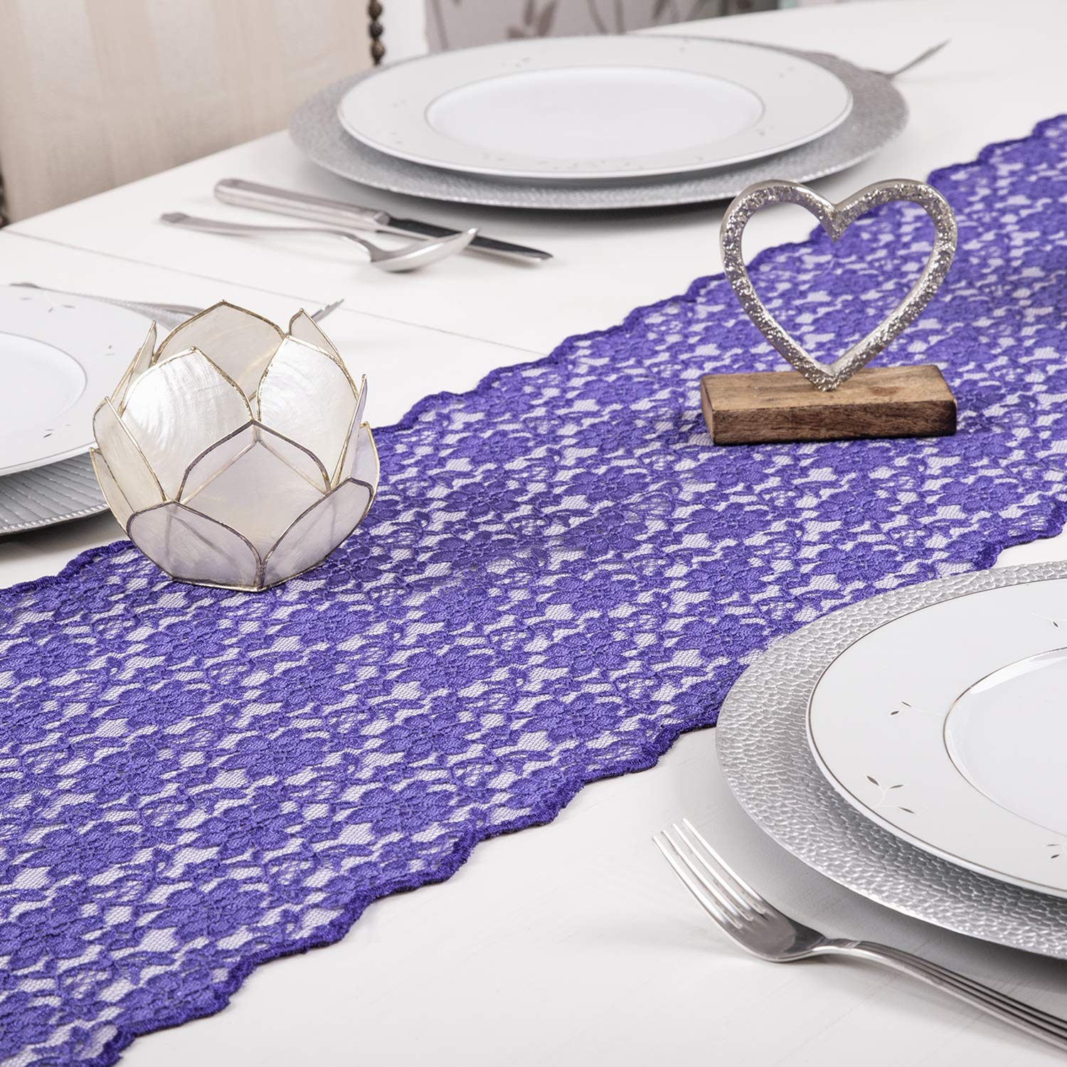 """Dinner Tablecloth 60/"""" x 102/"""" Royal Blue lovemyfabric Polyester Holiday Party"""