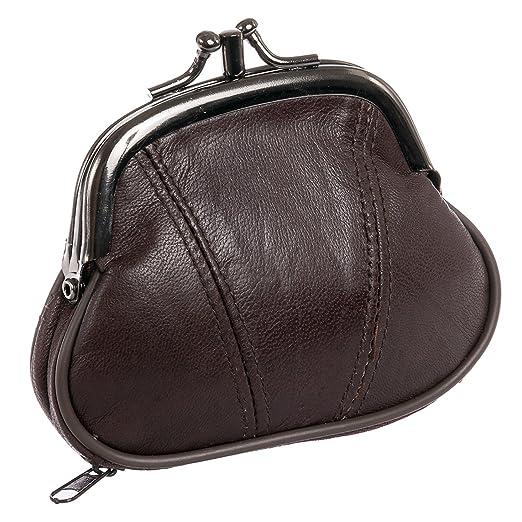 Amazon.com: Marshal Womens Leather Kiss Lock