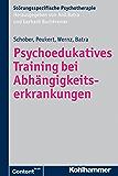 Psychoedukatives Training bei Abhängigkeitserkrankungen (Störungsspezifische Psychotherapie)