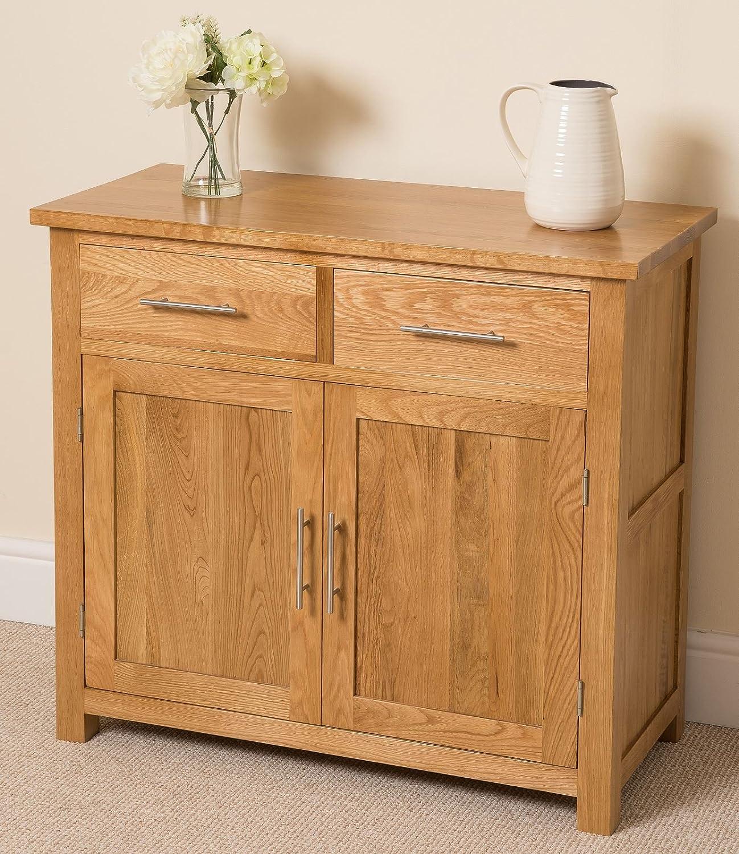 Charmant Oak Furniture King Oslo Solid Oak Small Sideboard Cabinet, (91 X 43 X 82  Cm): Amazon.co.uk: Kitchen U0026 Home