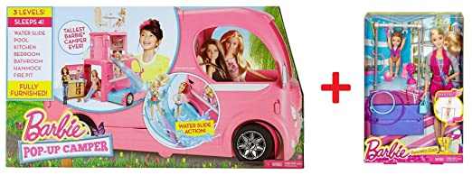 "187 opinioni per Barbie CJT42- Camper Limited Edition ( include "" Barbie Gymnastic Coach Dolls &"