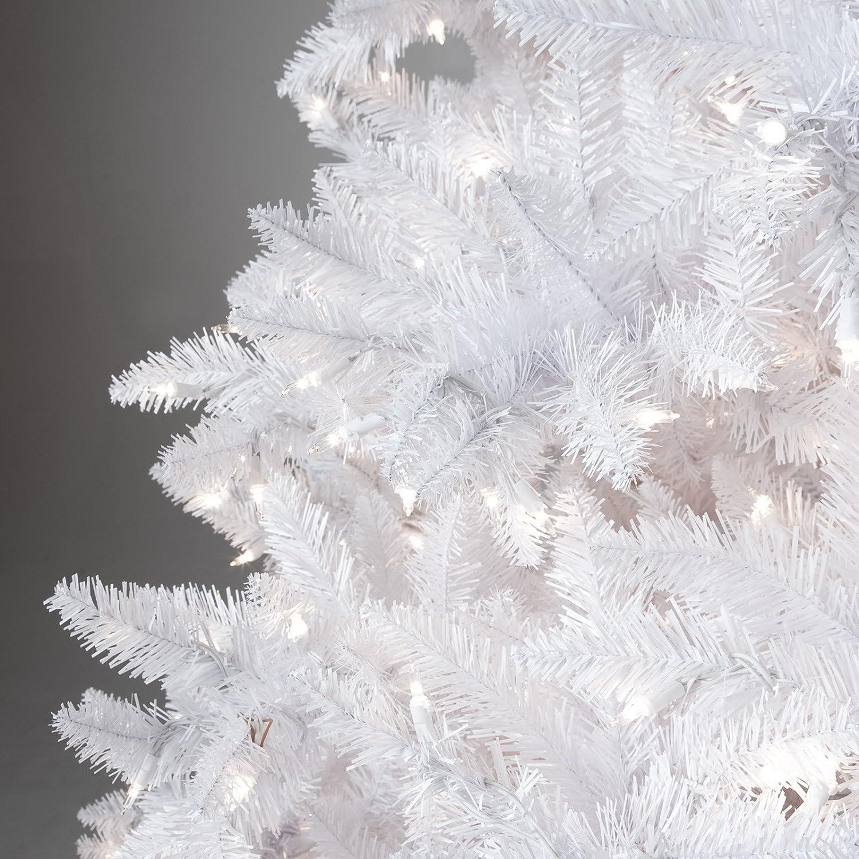 Amazon 6 5 Ft Winter Park Full Pre lit Christmas Tree Home