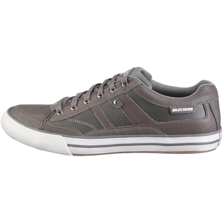 Skechers Men's Planfix Kano Half Shoe Grey 6.5 UK: Buy