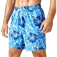 SNOW DREAMS Traje de baño para hombre Qucik Dry Board Shorts para hombre