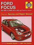 Ford Focus Petrol and Diesel Service and Repair Manual: 2001 to 2005 (Service & repair manuals)
