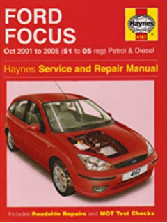 Haynes repair-manual-ford-focus-2006.