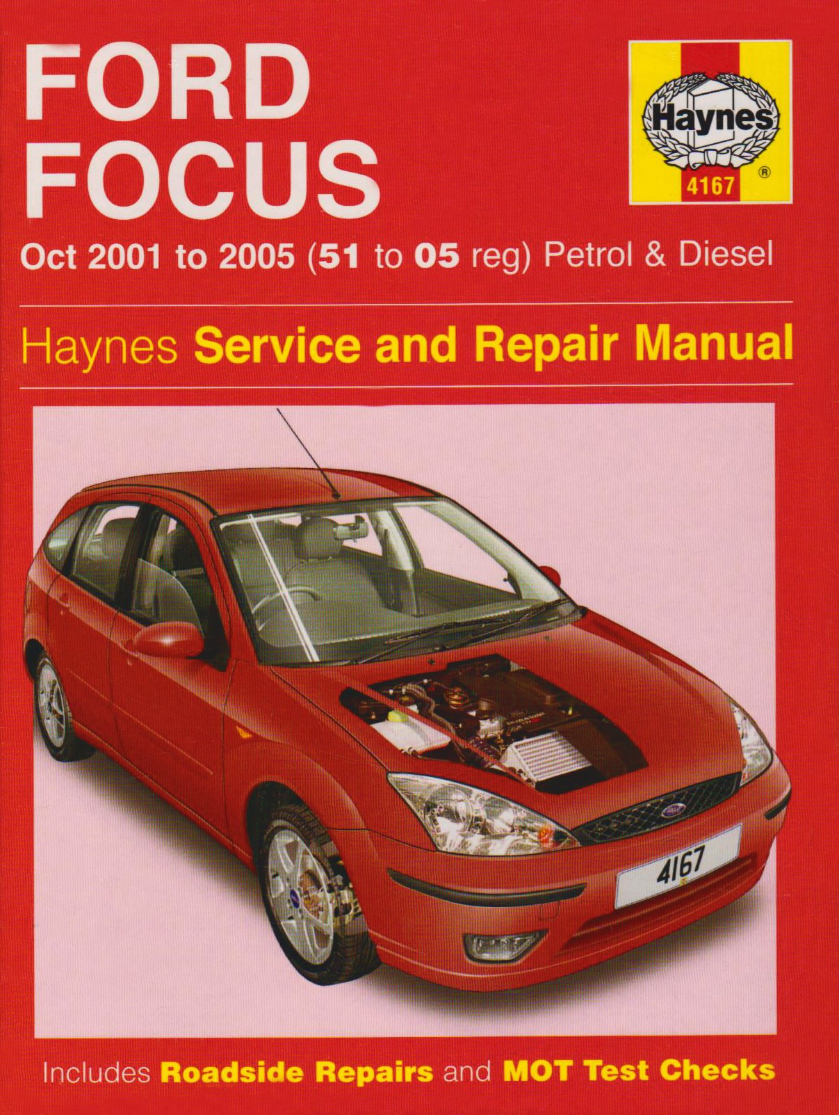 Ford Focus Petrol and Diesel Service and Repair Manual: 2001 to 2005  (Service & repair manuals): Amazon.co.uk: Martynn Randall: 9781844257416:  Books