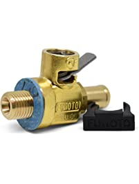 Fumoto F106N FN-Series Drain Valve with Long Nipple with Lever Clip