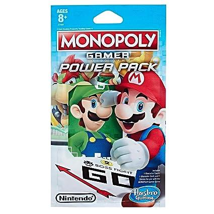 Hasbro Juego C1444ey20 Monopoly Gamer Figuras Pack Amazon Es