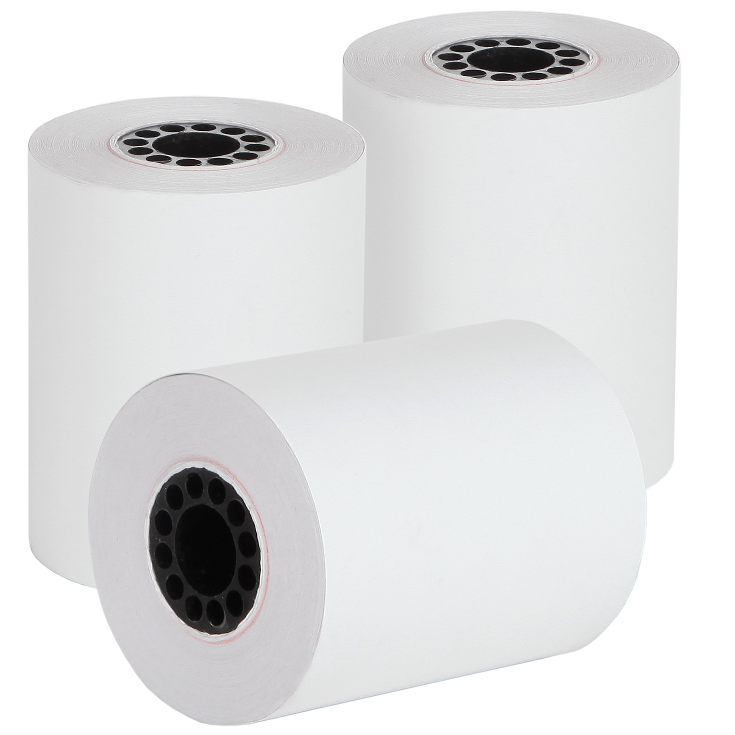 2 1/4'' X 85' Thermal Credit Card Paper 50 Rolls Per Box for Use in Some Verifone, Omni, Hypercom and First Data, BPA Free by Freccia Rossa Market