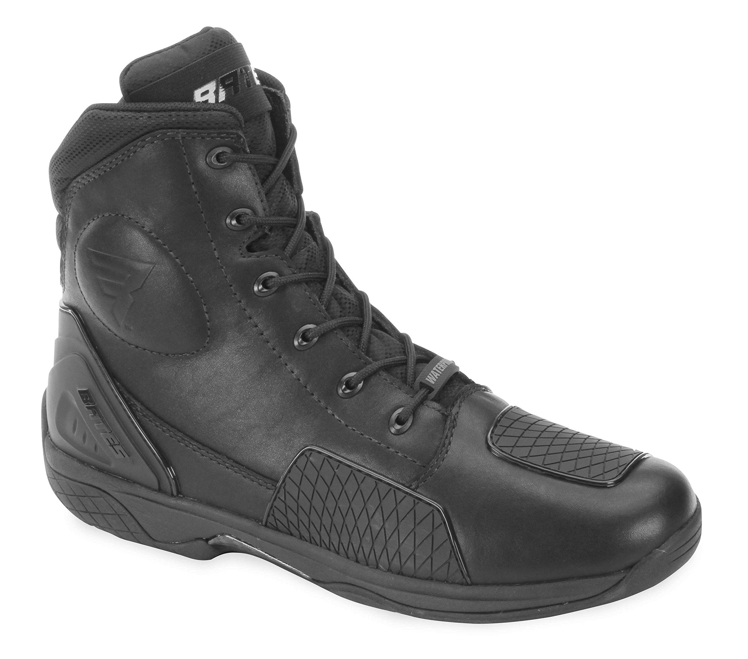 Bates Adrenaline Performance Men's Motorcycle Boots (Black, Size 10.5)