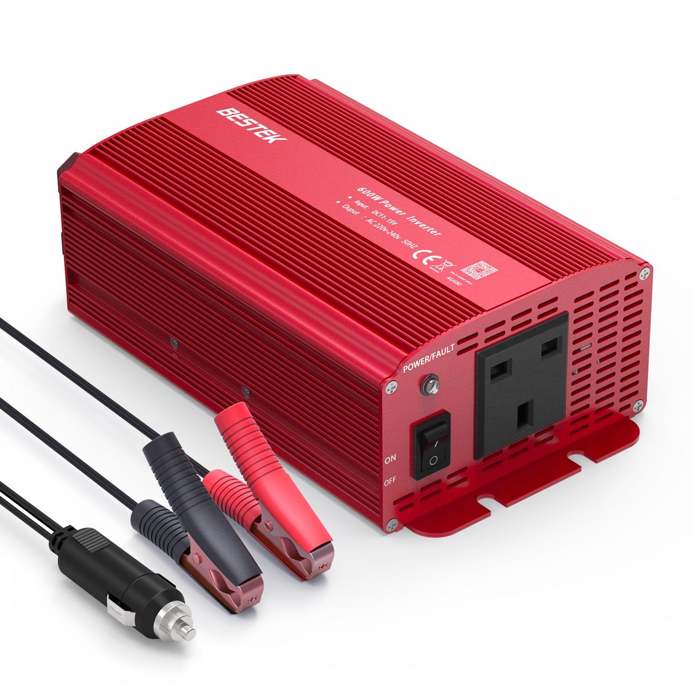 Inversor de potencia de Bestek (600 W): Amazon.es: Electrónica