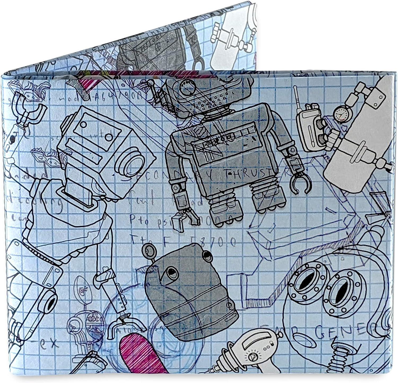 Robots Mighty Wallet | Tyvek Wallet | Paper Wallet | micro wallet | minimalist wallet