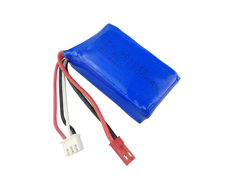 1PCS 2 en 1 Chargeur de Batterie pour WLtoys A949 A959 A969 A979 S989 V912 T23 T55 F45 RC Voiture Drone T/él/écommand/é Batterie /à Haut D/ébit Fytoo Accessoire 2PCS 7.4V 1100mAh Batteries au Lithium