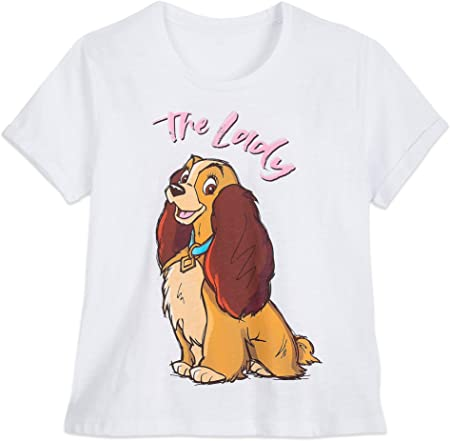 Disney Lady ''The Lady'' Camiseta para Mujer - Lady and The Tramp