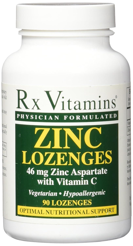Amazon Com Rx Vitamins Zinc Lozenges 46mg Lozenges 90 Count