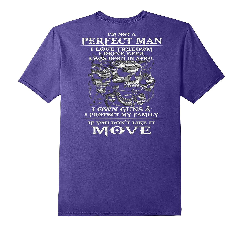 Mens I AM NOT A PERFECT MAN APRIL-FL