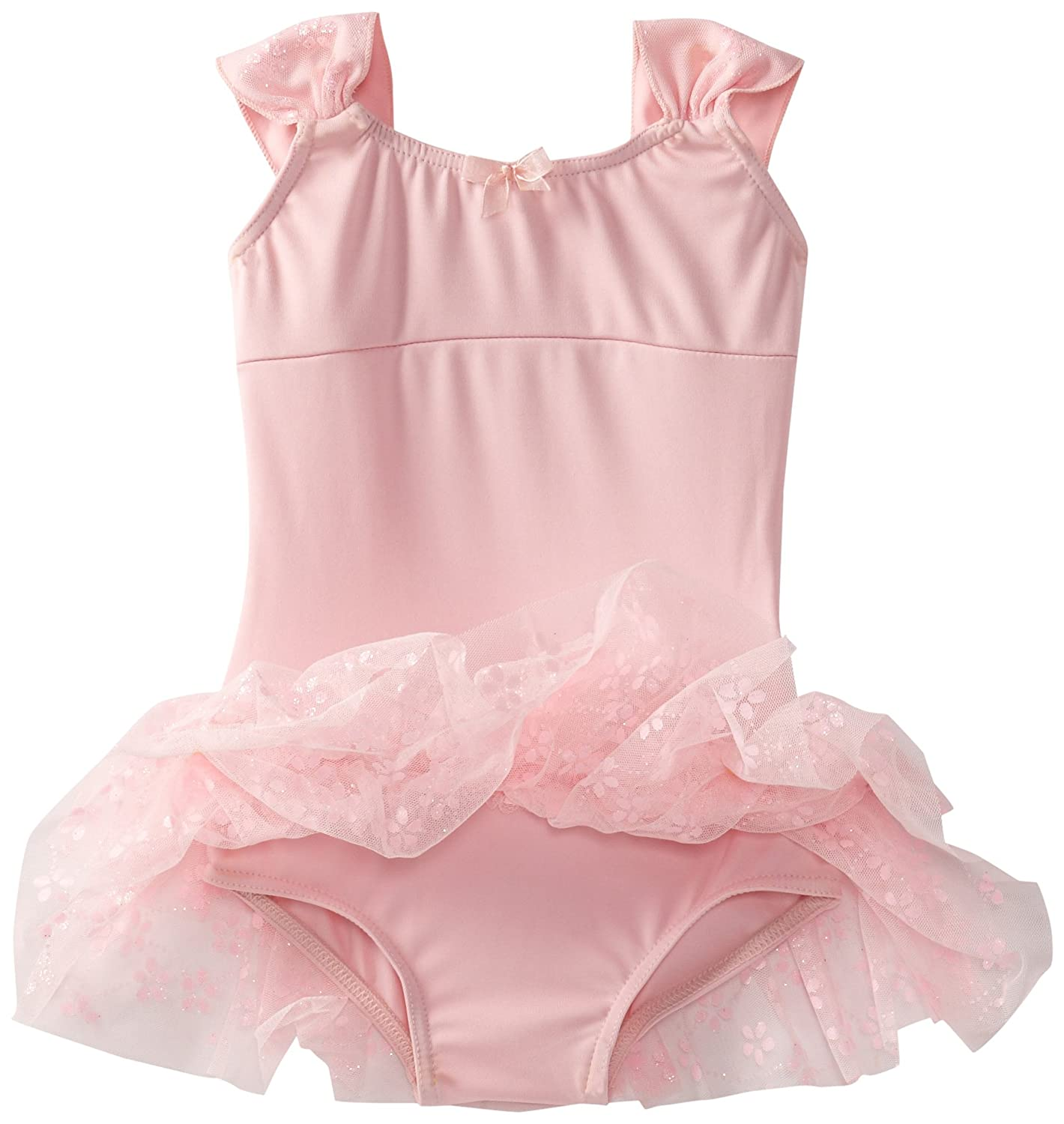 Capezio Little Girls Ruched Strap Dress