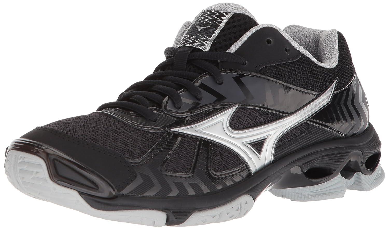 Mizuno Women's Wave Bolt 7 Volleyball Shoe B07828MXM8 Women's 10.5 B US|Black/Silver